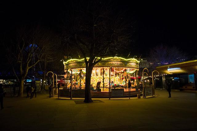 Mercatino di Natale-Queen's walk-Londra