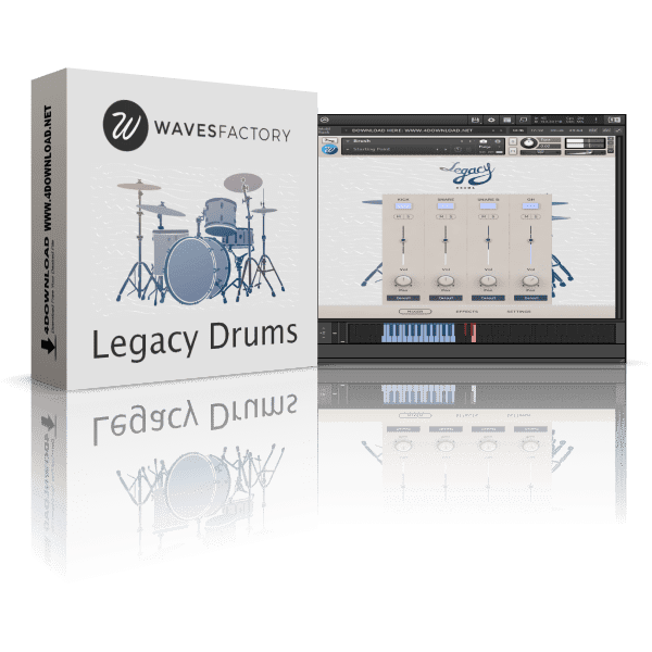 Wavesfactory Legacy Drums KONTAKT Library