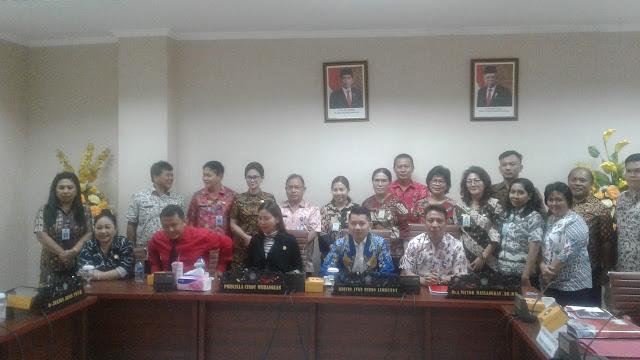 RDP Komisi ll dengan DPM PTSP Sulut