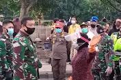 Tegakkan Disiplin Protokol Kesehatan, Pangkogabwilhan II Geruduk Pasar Keputran Surabaya