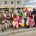 Jaguarari: PM participa de Blitz educativa no distrito de Pilar em comemoração à Semana Nacional do Trânsito