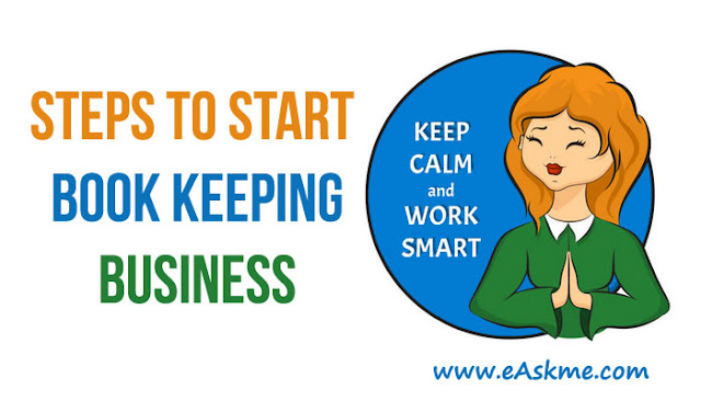 3 Steps to Start Book Keeping Business: eAskme