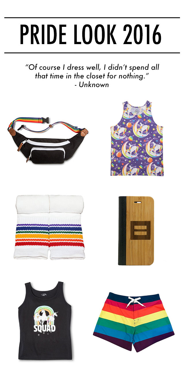 Gear up for Pride - Gift Guide