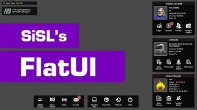 SISL's FlatUI ETS2 1.37-1.38