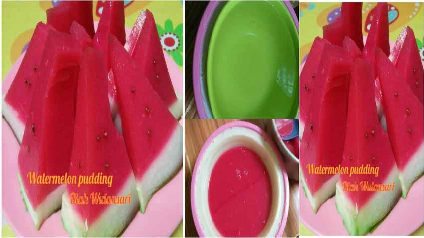 Resep Membuat Puding Semangka