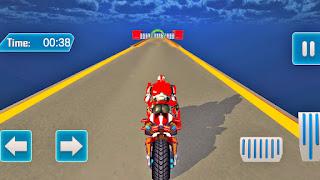Modern Speed Robot Hero Bike Stunts
