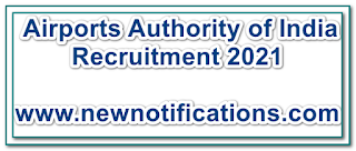 Airports Authority of India Recruitment 2021