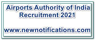 Airports Authority of India Recruitment 2021