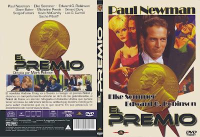 Carátula dvd: El premio 1963