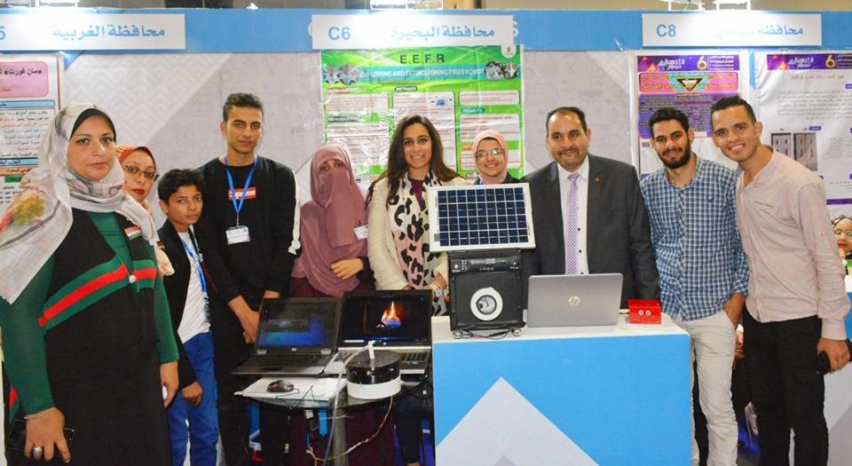 البحيرة تحصل على المركز الثالث بجوائز مبتكري المحافظات، بمعرض القاهرة الدولي السادس للإبتكار .