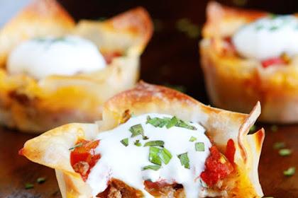 Crunchy Taco Cups Recipe