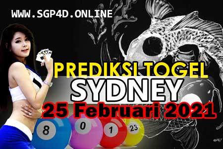 Prediksi Togel Sydney 25 Februari 2021