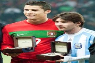 سجل الأهداف الدولية لكل من رونالدو وميسي