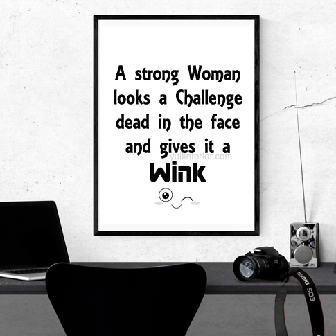 Inspirational Quotes for Women Wall Frame in Port HarcourtNigeria