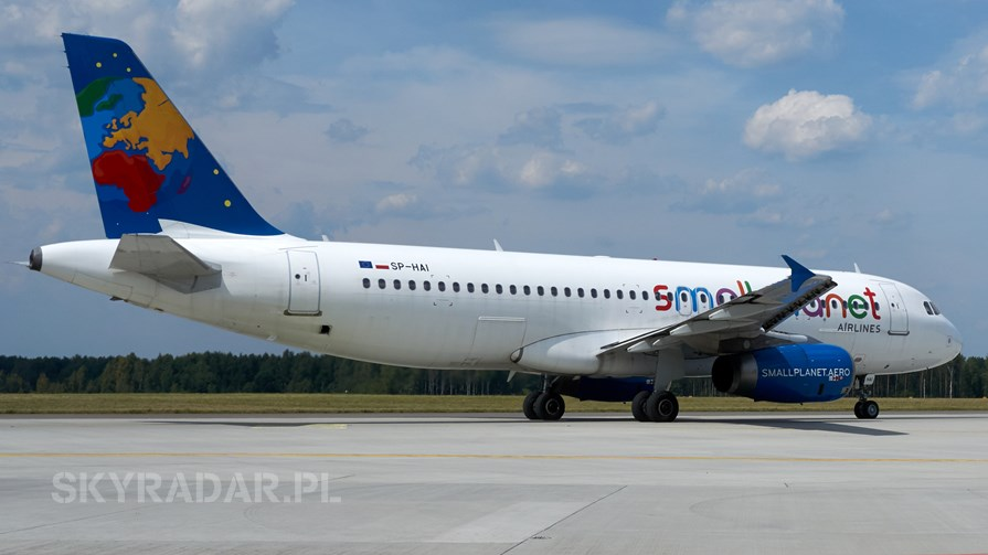 SP-HAI - Airbus A320 - Small Planet