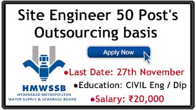 HMWS and SB Outsourcing posts recruitment 2019 apply online