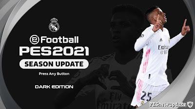 PES 2021 Dark Edition Team Menus by Hawke