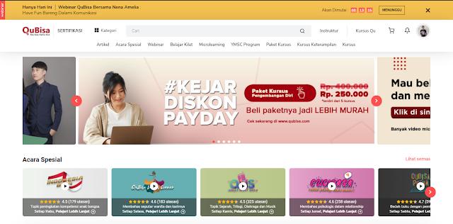 kursus online Indonesia