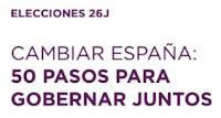 50 PASOS PARA GOBERNAR JUNTOS