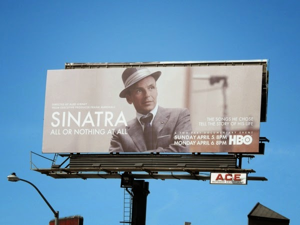 Sinatra All or Nothing at All docu billboard