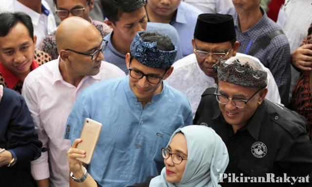 Demiz Jadi Jubir Jokowi-Ma'ruf, Respon Sandiaga Uno Tak Terduga