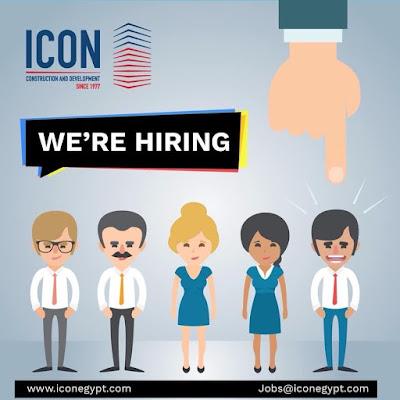 مطلوب مهندسين مدني استيل ومعماري وكهربا لشركة Icon Egypt