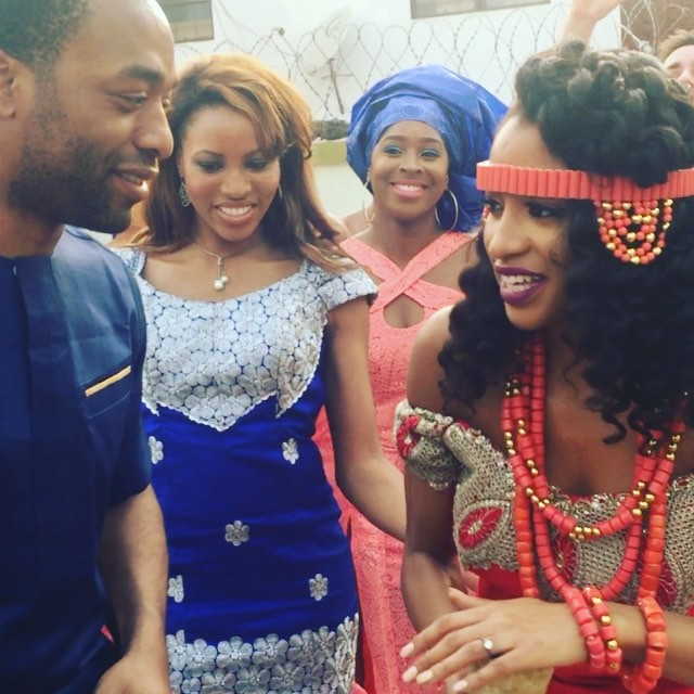 Chiwetel Ejiofor's Sisters Wedding