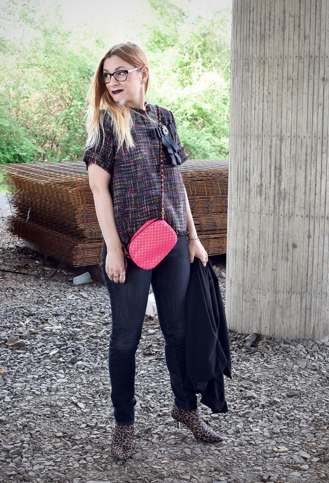 Boucle Teile richtig stylen, Moderblog für Frauen über 40