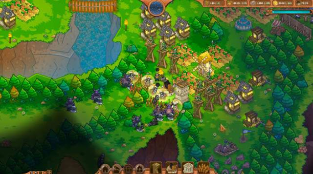 Risen Kingdom a strategy that tells about the war against the undead. Once upon a time, this glorious kingdom was already completely destroyed by hordes of dead soldiers