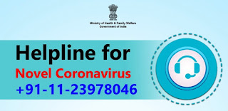 Helpline for Novel Coronavirus