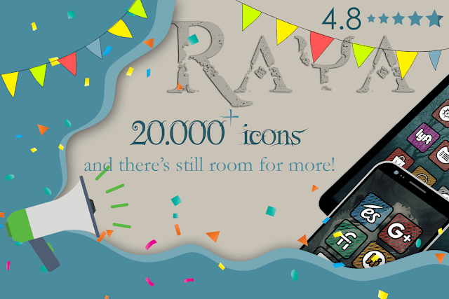 Raya icon pack new dashboard APK