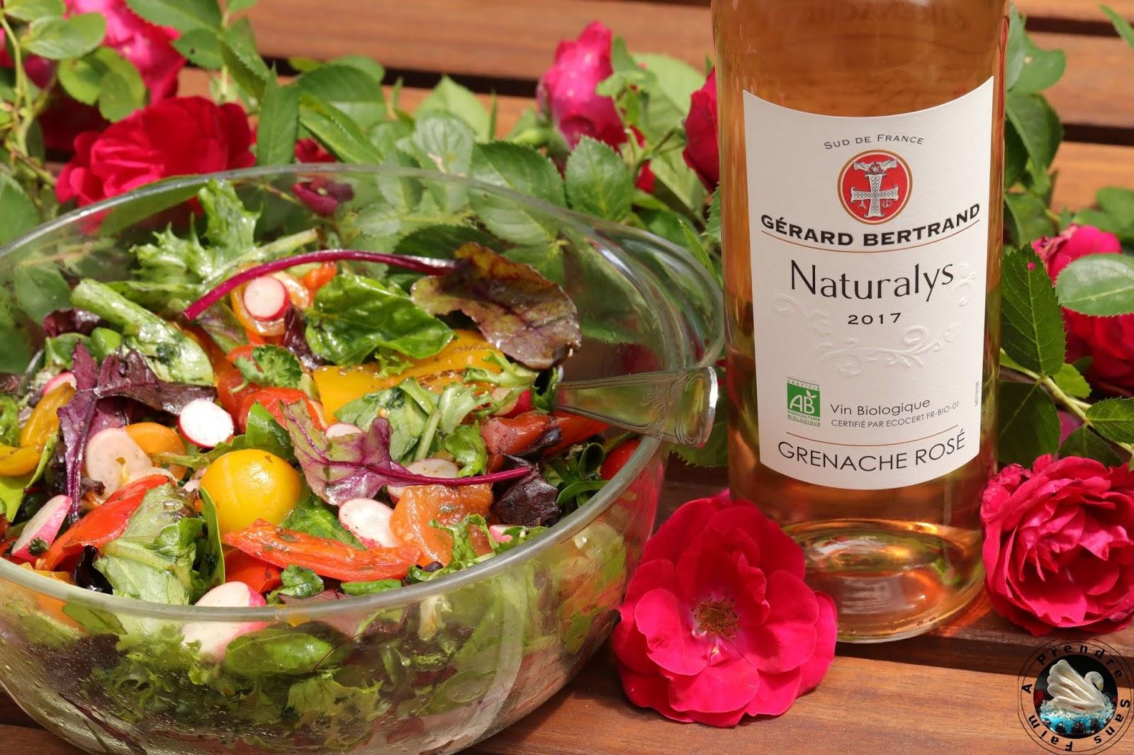 Salade printanière aux poivrons grillés