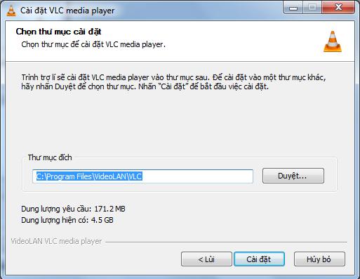 Hướng dẫn cài đặt VLC Media Player 64bit mới nhất cho Win 7, 10 e