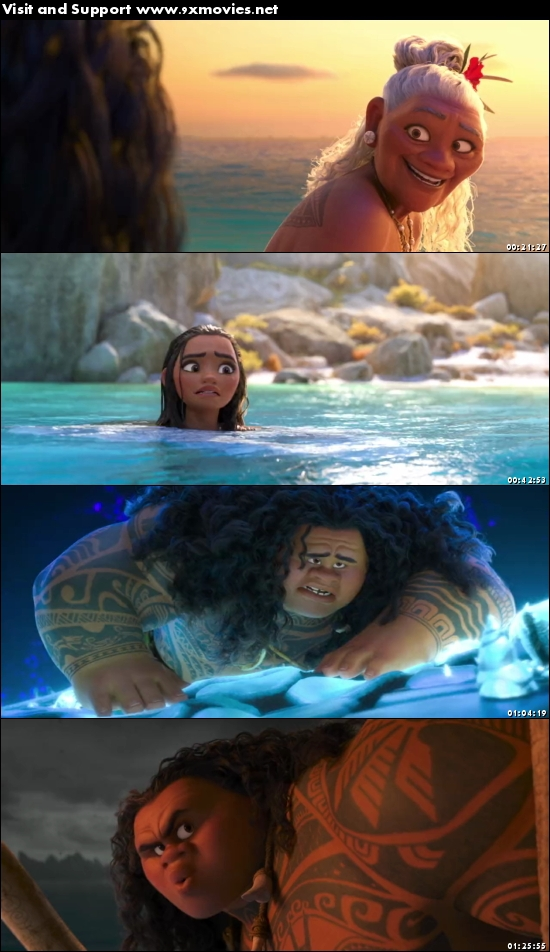 Moana 2016 Dual Audio Hindi 720p BluRay