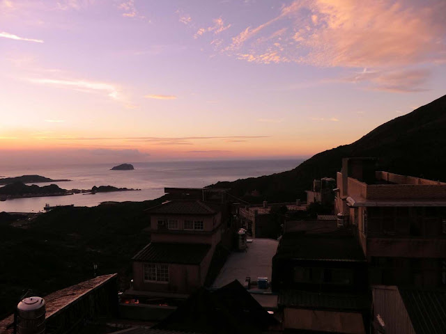 九份の夕日,台湾〈著作権フリー無料画像〉Free Stock Photos