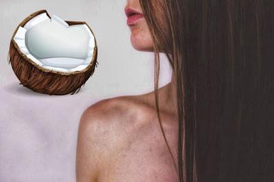 وصفات وفوائد مذهلة لحليب جوز الهند للشعر
