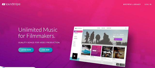 Soundstripe Royalty Free Music Unlimited Music for Video