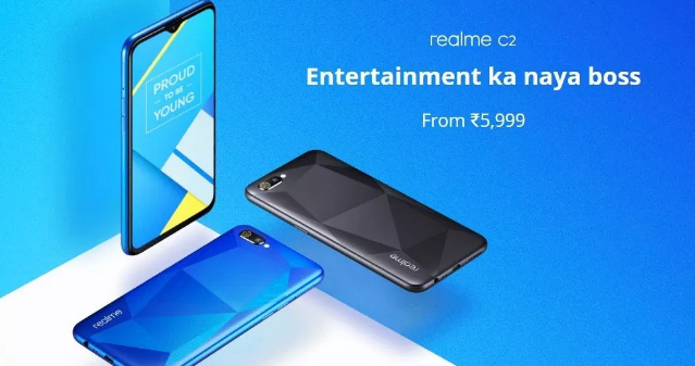 REALME C2 come with DUAL CAM AND HELIO P22 4000MAH BATTERY