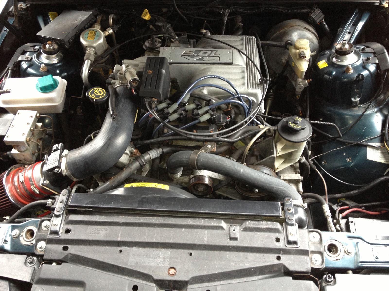 Daily Turismo: Converse V8 Swap: 1993 Volvo 940 Wagon