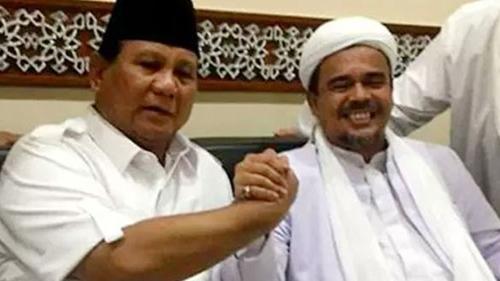 Demi Pilpres 2024, Prabowo Tampak Makin Menjauh dari Habib Rizieq