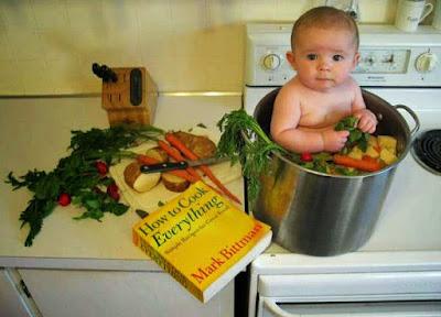 Babybilder lustige Kinder beim kochen witzig