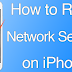 How to Reset Network Settings on iPhone or iPad