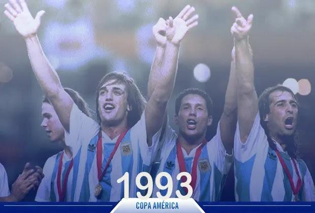 الأرجنتين بطل كوبا امريكا 1993