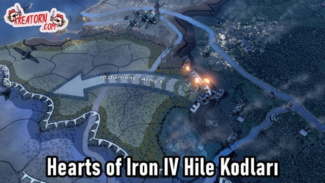 Hearts of Iron IV Hile Komutlari