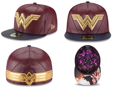 Batman v Superman: Dawn of Justice Character Armor 59Fifty Fitted Hat Collection by New Era - Wonder Woman