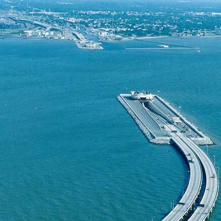 The Oresund Bridge Tunnel Is World S Longest Border Crossing And Connects Denmark Sweden Across Strait