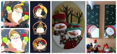adornos-navideños-técnica-cartonaje