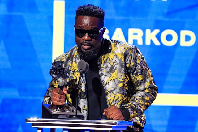 Sarkodie wins 'Best International Flow' at the 2019 BET Hip-Hop Awards