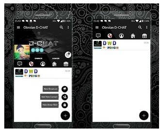 BBM MOD D-CHAT V1.0.51 - Generasi Terbaru BBM FBUI by Darwandi