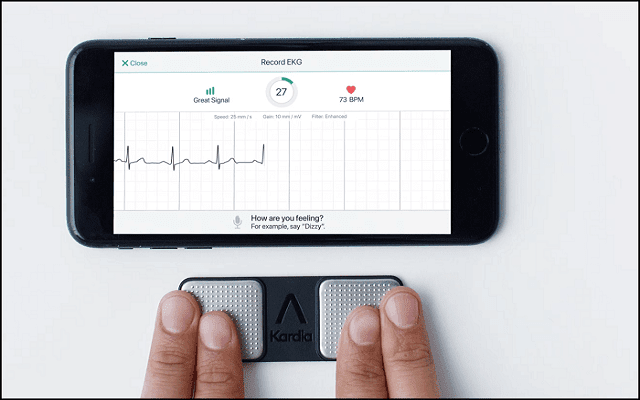 A new intelligent application to examine your heart and to detect heart attacks before they occur 88